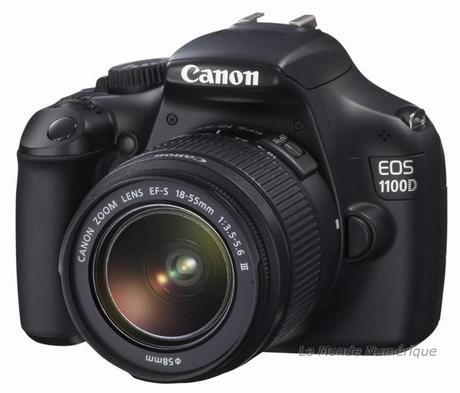 Cano EOS 1100D, successeur du 1000D, l'aide en plus