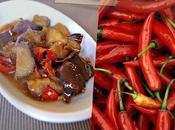 Sauté d'aubergines sauce chili maison Kylie Kwong