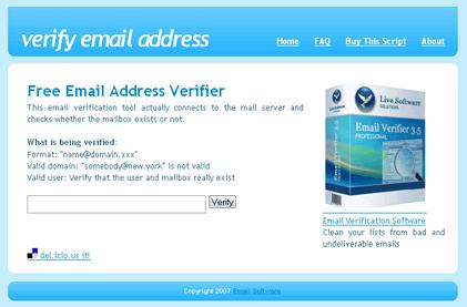 verify mail
