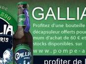 Dégustez gratuitement Gallia Paris recevez décapsuleur Collector.