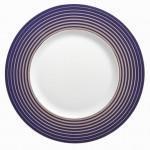 Guy DEGRENNE Boreal Hypnose - Assiette dessert bleue