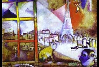 marc chagall est partout philadelphie paris et grenoble paperblog. Black Bedroom Furniture Sets. Home Design Ideas