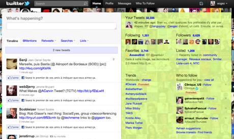 Twitter + I Like (extension Chrome)