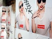 Supreme york avec lady gaga shoot bank saint honore