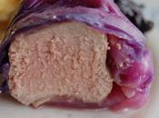 Filet mignon basse température papillote choux rouge, sauce Merlot