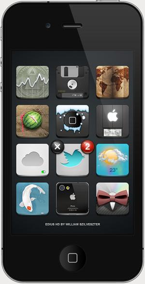 Edius HD – Superbe thème pour iOS4.2.1
