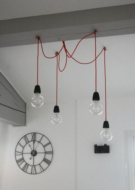 Quand de simples ampoules deviennent des luminaires design