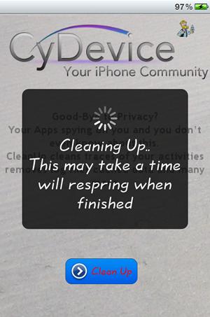 CleanUp – Nettoyez votre iDevice