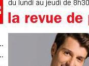 """""""Voyage bout droite"""" dans revue presse France inter"""