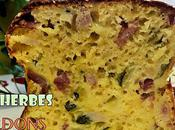Cake Courgettes Herbes
