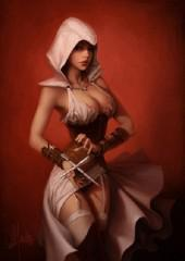 assassin's creed,assassin's creed 2,femme,ps3