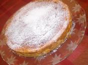 gâteau pommes créme