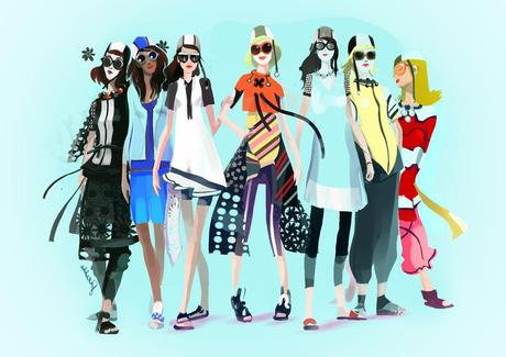 Fashion Week Illustrée 3 | Fashion-speed