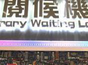 bibliothèque pour lire ebook papier l'aéroport Taiwan