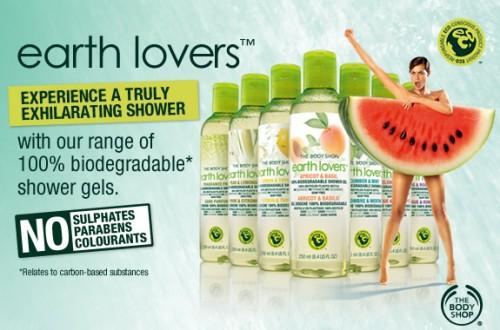 The Body Shop lance « Earth Lovers », 100% biodégradable…