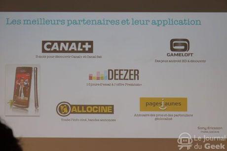 P1000022 Lapplication Canal+ pré embarquée sur les Xperia Arc et Neo