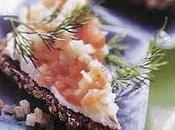 Tartines seigle tartare saumon