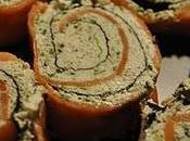 Spirales saumon fumé nori (également truite fumée)