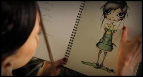 Extrait du clip dOlivia Ruiz Miette, chut... Motus et bouche cousue !