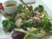 salade composée fromages