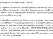 Rising Rachel