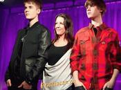 Justin Bieber statue cire Londres