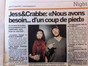 Interview Jess&Crabbe; Micro-Clubbing Puff mars 2011