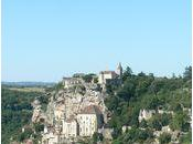 Rocamadour, lieu pélerinage (Lot)