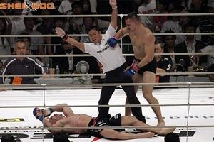 Sept. 10, 2006: The crowning achievement of Mirko Cro Cop's MMA career, as he stopped both Wanderlei Silva and Josh Barnett to win the 2006 PRIDE Openweight Grand Prix. Photo via Sherdog.com
