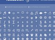 Mettre symboles dans messages Facebook Twitter