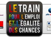 train l'emploi s'arrête gare Clermont-Fd