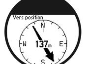 Suivre itinéraire avec montre Garmin
