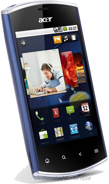 Test du smartphone Acer Liquid Mini E310