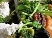 Salade méli mélo très verte pour l'arrivée printemps
