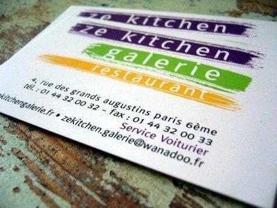 Resto, Ze kitchen gallery