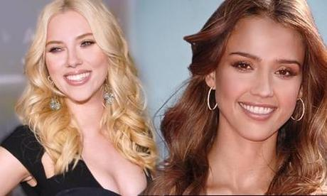 Scarlett Johansson & Jessica Alba