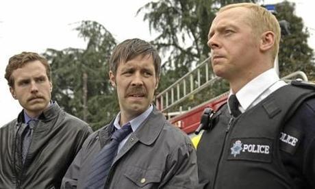 Rafe Spall, Paddy Considine & Simon Pegg