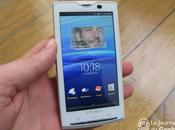 Sony Ericsson Xperia aura finalement droit Android