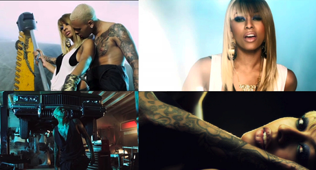 NOUVEAU CLIP : KERI HILSON feat. CHRIS BROWN –  ONE NIGHT STAND