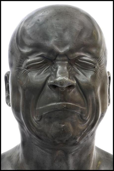 L'Homme de mauvaise humeur Messerschmidt Faces à faces contemporains au Louvre