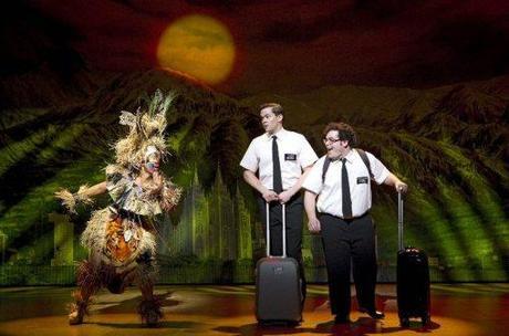 Le livre des Mormons à Broadway