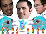 Twitter, déjà 5ème année, joyeux anniversaire