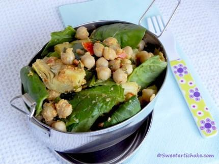 Earth Hour and Artichoke and Chickpea Curry –  Earth Hour et curry d'artichaut et pois chiches
