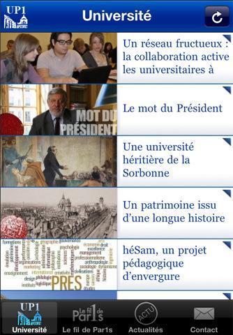 La Sorbonne aussi a son application sur iPhone