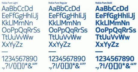 nokia pure styles 580x306 540x284 Une nouvelle typo pour Nokia