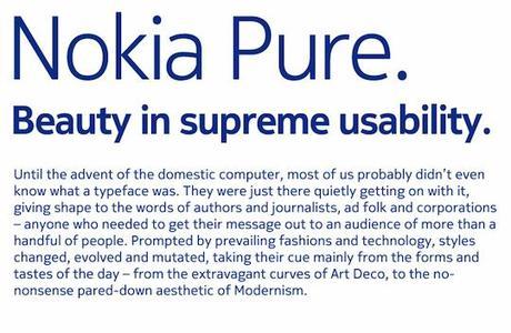 type sample540 Une nouvelle typo pour Nokia