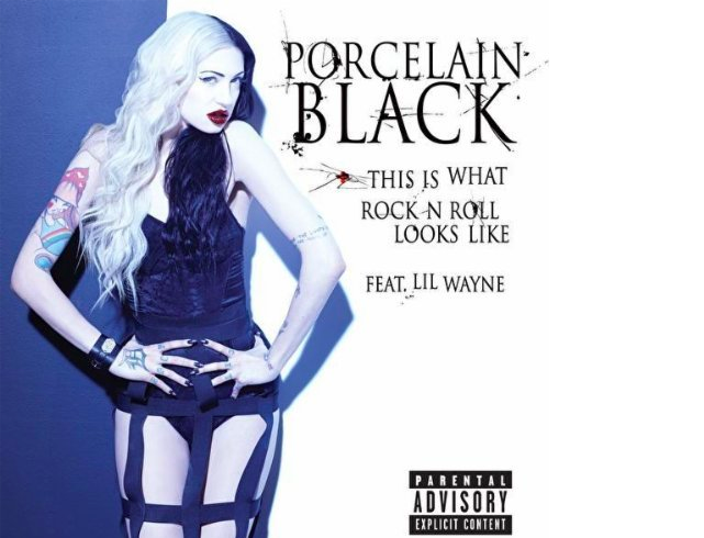 NOUVEAU CLIP : PORCELAIN BLACK feat LIL WAYNE – THIS IS WHAT ROCKN'N ROLL LOOKS LIKE