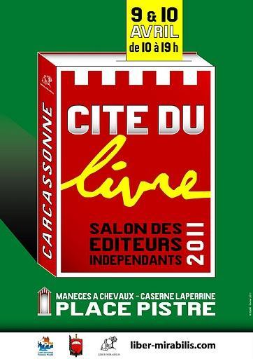 Les Éditions Dédicaces participeront au Salon des éditeurs indépendants, à Carcassonne (France)