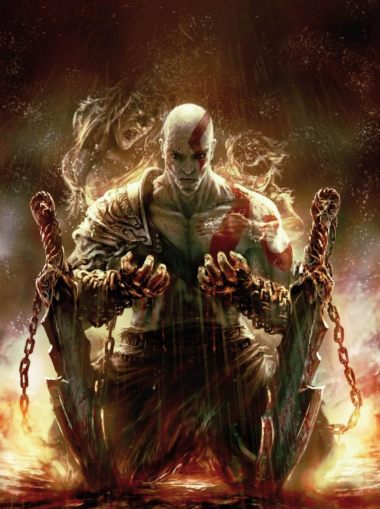 Artwork de Kratos en couverture d'Icare