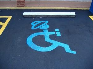 FlickR - Handicapped Spot at Guadalajara Restaurant - lgwright